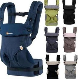 Wholesale Infant Carriages - Baby Infant Safety Carrier 360 Breathable Baby Carrier Backpack Kid Carriage Toddler Sling Wrap Suspenders KKA2926