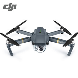 Wholesale Recording Connection - DJI Mavic Pro & Fly More Combo Quadcopter 4K HD Camera 3 Axis Gimbal 7 KM Recording Remote Control 12 Channels Camera Drones