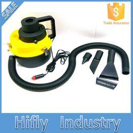 Wholesale Vacuum Dusting Brush - Wholesale-Portable Wet and Dry Car Vacuum Cleaner Handheld Mini Auto Car Dust Vacuum Cleaner with Brush   Crevice   Nozzle Head