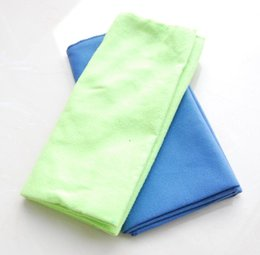 Wholesale Wholesale Cotton Cleaning Rags - Household Clean Towel Cleaning Cloth Kitchen Towels Wiping Dust Rags Magic Quick Dry Dish Cloth Free Shipping