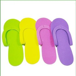 Wholesale Disposable Slippers For Hotels - Women Hotel Home Disposable Fabric Made Slippers Fashion Travel Portable Flip Flops Special For B1-B16 Monik
