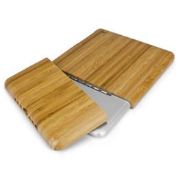 Wholesale Ipad Mini Bamboo - Wooden ipad case Genuine Natural Bamboo Wood Case Cover Skin for iPad 1 2 3 mini Retina