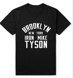Dessus de fer en Ligne-En gros livraison gratuite World Boxing Athlète MIKE TYSON Design Hommes débardeurs Brooklyn New York Fer Mike Tyson Mâle Sans Manches Chemises Top Ve