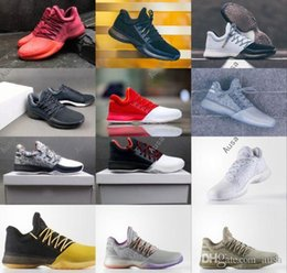 Wholesale History Fashion - 2017 Hot Harden Vol. 1 BHM Black History Month Mens Basketball Shoes Fashion James Harden Shoes Outdoor Sports Training Sneakers Size 40-46