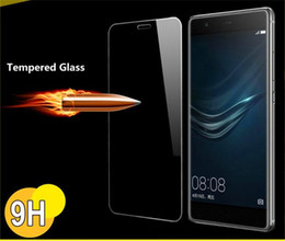 Wholesale Alcatel Idol X - For ZTE Alcatel LG X Power On5 HTC 530 Coolpad 2.5D 9H Tempered Glass Film with Retail Box for Zmax Pro z981 Warp 7 Idol 4 Fierce 4