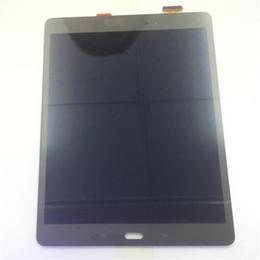 Argentina NUEVO Pantalla LCD Pantalla táctil Reemplazo del digitalizador para Samsung Galaxy Tab A 9.7 P550 P555 Negro Blanco con vidrio templado DHL logística Suministro