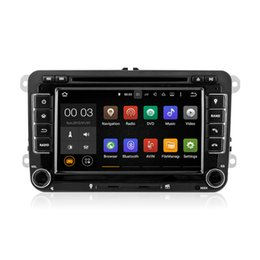 Wholesale Radio Seat - Android 5.1 Car DVD Radio Multimedia Player With Wifi DAB CanBus for VW Golf 5 6 Tiguan Caddy Polo V 6R SEAT