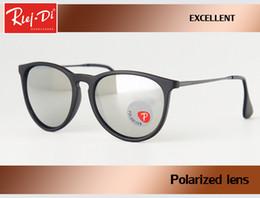 Wholesale Hd Casing - 2017 Fashion Sunglasses Women Popular Brand Design Polarized Sunglasses Summer HD Polaroid Lens Sun Glasses gafas With Original Case