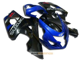 Wholesale K4 Fairings - New ABS motorcycle bike Fairings Kits Fit For Suzuki GSXR600 GSXR750 2004 2005 600 750 04 05 K4 gsxr bodywork set love color black blue