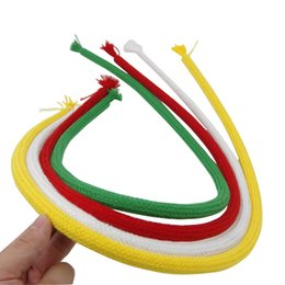 Wholesale Magic Tricks Rope - random color Stiff Rope Close Up Street Magic Trick Kids Party Show Stage Soft Tricky Bend party festival magic trick gift
