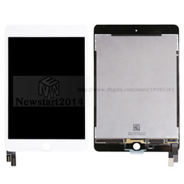 Wholesale ipad mini lcd digitizer - Good Quality & Brand New 100% Tested LCD Display Screen + Touch Screen Digitizer Assembly Complete Replacement Part For iPad Mini 4