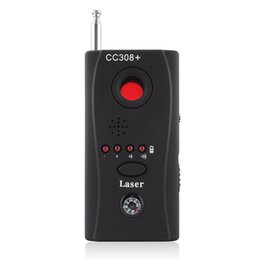 Wholesale Signal Camera Detector - CC308+Anti-spy Camera Detector Wireless Signal RF Detector Full Range Full Frequency Video Audio Bug Detectors GSM Signal Finder