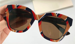 Wholesale trend sunglasses for women - New fashion designer sunglasses square pattern top quality summer personality trend style protection sunglasses for women 0029