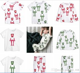 Wholesale Prince T Shirts - 8 style 2017 BOBO ins hot selling Europe and America style cute The Frog Prince printting 100% cotton boys girls T-shirt free shipping