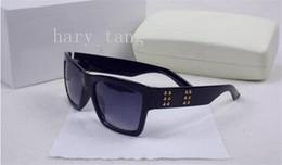 Wholesale Orange Leather Coat - 2017 Italy designer men women brand sunglasses metal frame removable leather buckle Medusa vintage eyeglasses coating lensdf871