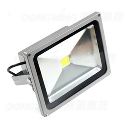 Wholesale High Lumen Rgb Led Lights - Wholesale- Free Fedex 1pcs 5000LM high lumen 50W LED Flood Light bulb white waterproof IP65 outdoor led spotlight RGB AC85-265V