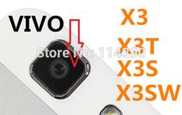 Wholesale Bbk Vivo - Wholesale- Original back camera glass lens COVER FOR BBK VIVO X3 X3SW X3T X3S