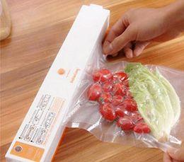 Wholesale Foods Holds - Household Food Vacuum Sealer Packaging Machine Automatic Electric Film Food Sealer Vacuum Packer Including 15Pcs Bags