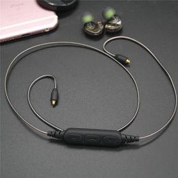 OKCSC DD4C Bluetooth 5.0 MMCX Кабель с микрофоном для shure Наушники SE215 SE535 SE315 Разъемы наушников MMCX Аудиокабель от