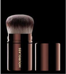 Wholesale Retractable Foundation Brush - Brand hourglass makeup brushes 1 pc RETRACTABLE KABUKI COMPLEXION POWDER FOUNDATION blending bronzer contour make up brushes