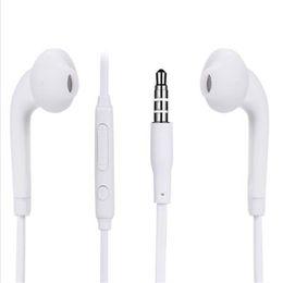 Volume do fone de ouvido on-line-Para samsung s7 s6 edge s6 fone de ouvido 3.5mm in ear fone de ouvido estéreo com microfone e controle de volume fone de ouvido fone de ouvido para iphone 5s 6 6 s plus