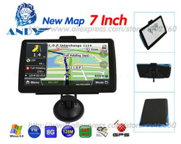 Wholesale Russia French - new 7 inch Car GPS Navigation 800MHZFM 8GB DDR 128M New Maps Russia Belarus Kazakhstan Europe USA+Canada TRUCK navigator