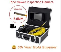 Wholesale Sewer Endoscope - new 30m Cable7'' TFT LCD Sewer diameter 6.5mm Sewer Pipeline Endoscope Inspection Snake Camera Stainless Steel Lens Waterproof