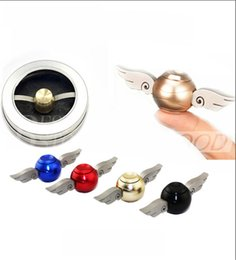 Wholesale New metal fidget spinner Harry Potter Golden Snitch Gyro Torqbar Hand Spinner Fingertip EDC For Kids Adults Decompression Toys
