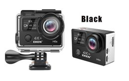 Wholesale Used Electronics - Original EKEN H6S Native 4K Full-Time EIS Ultra HD Action Sports Camera WIFI HDMI Dual screen 170 Wide Angle remote control waterproof 30M