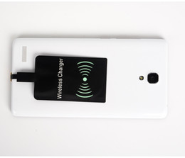 Wholesale Power Support Iphone Wholesale - Qi Charger Receiver Film Module of Power Charger Support Type-C Micro USB Film Patch Module for Samsung Galaxy S3 S4 S5 S6 S7 S8 Edge WX1-6S