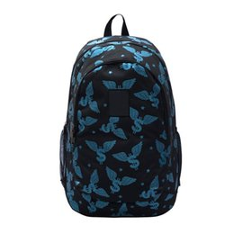 Wholesale Canvas Backpack For Fashion - Designer Zipper Backpack Novelty Design Cartoon Bags for Women and Men with Multi Colors Outdoor Hiking Bags with Large Capacity