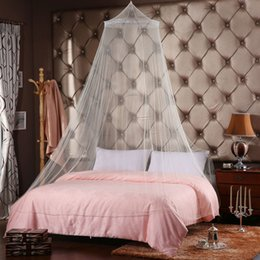 Wholesale Wholesale Child Cot - Wholesale-Baby Toddler Infant Children Crib Mosquito Net Summer Baby Cot Bedding Net Door Type 5 Color YY0497