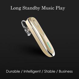 Deutschland Business Mini Bluetooth Kopfhörer Kopfhörer Wireless Bluetooth Headset mit Mikrofon Stereo Ohrhörer Freisprecheinrichtung Lange Standby King Versorgung
