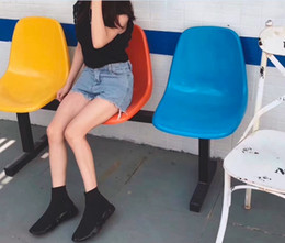 Wholesale Dots Point Socks - 2017 Best selling Women Sock Boots Free shipment Runny Shoes with high quality