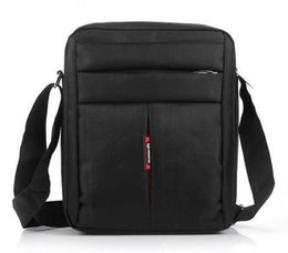 Wholesale Mens Messenger Business Bag Mans - Wholesale-Hot Sale High Quality Mens Bag Casual Man Business Messenger Oxford Shoulder Bags Travel Black Brown Sports Crossbody Flap