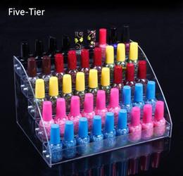 5 Tiers Cosmétique Maquillage Vernis À Ongles Vernis Présentoir Porte-Rack Bijoux Acrylique Emballage Organisateur Boîte De Rangement ? partir de fabricateur