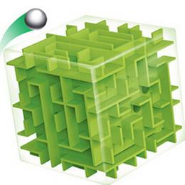 2019 bolas de laberinto Laberinto 3D Cubo Mágico Puzzle Juego de Puzzle Cubo de Velocidad Laberinto Pelota Juguetes Cubos Mágicos Laberinto Juegos de Pelota Juguetes Educativos rebajas bolas de laberinto