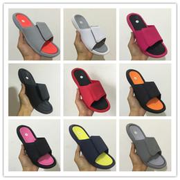 Scarpe da ginnastica khaki online-Vendita all'ingrosso 6 VI slippers 6s red sandali Slide Hydro beach outdoor uomo scarpe casual running Sport 4 5-13 sneakers taglia 36-47