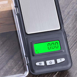 Wholesale Electronic Household Kitchen Scale - 2017 new Household Scales wholesale Mini Digital Electronic Jewelry Pocket Weight Scale with retail box free shipping