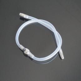 Outil de sons urétraux en Ligne-Le sexe de prise de pénis de cathéter urétral de têtes doubles joue pour deux utilisation gaie en même temps, dilatateur urétral masculin sonnant des outils q0511