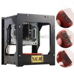 Wholesale Diy Micro Usb - NEJE DK-8-KZ 1000MW Higher Energy USB Engraver High Speed Micro Mirror Type Laser Engraving Machine Stamp Maker DIY Printer MYY