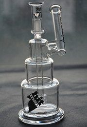 Wholesale Dome Base - Hitman Glass Bongs solid base Brilliance Cake water Pipe Dab Rigs with dome and nail 14 mm joint