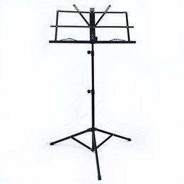 Wholesale Metal Stand Foldable - Make Violin Luthier Tools Folding Foldable Sheet Music Stand Holder Metal Material Lightweight Deisgn with Waterproof Carry Bag Top Quality