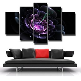 Wholesale 15 Digital Picture Frames - 5 Pcs Set Painting Framed Canvas Wall Art Picture Canvas Print Modern Wall Paintings Top Home Decoration Beautiful picture#125