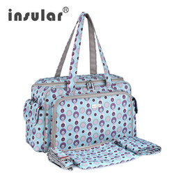 Wholesale Small Baby Diapers - Free Shipping New Arrival Elegant Baby Diaper Bag Nappy Bags Multifunctional Changing Bags Women Tote Mama Bag