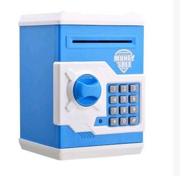 Wholesale Painting Safe - Automatic Money Password Safe Deposit Painted ATM Save Money Tank Mini Safe Creative Piggy Bank