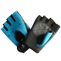 Wholesale Girls Fingerless Gloves Black - Weight lifting glove Pioneer girl fingerless weightlifting support mitten Guantes para pesas gym training Sport mitt Hot palm protect