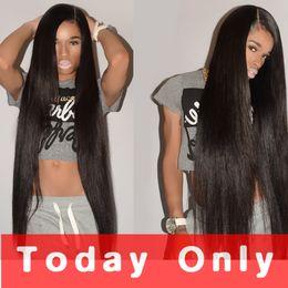 Wholesale Brazillian Human Hair Body Wave - 10A Unprocess Brazilian Straight Virgin Hair Human Hair 3 Bundles Peruvian Malaysian Indian Cambodian Brazillian Wavy Remy Hair