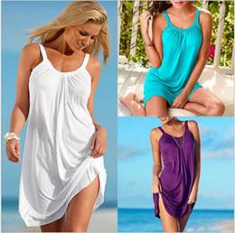 Wholesale Ladies Summer Clothes Sale - Clothing Ladies Fashion Loose Lace Dress Casual Flora Printed Maxi WHITE Plus Size For Women Woman Classic Sale