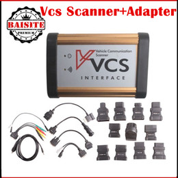 Wholesale Vehicle Scanner Price - Promotion price!!Full set vcs vehicle communication scanner interface VCS scanner Multi-Languages Wide Range Cars Covered diagnsotic tool